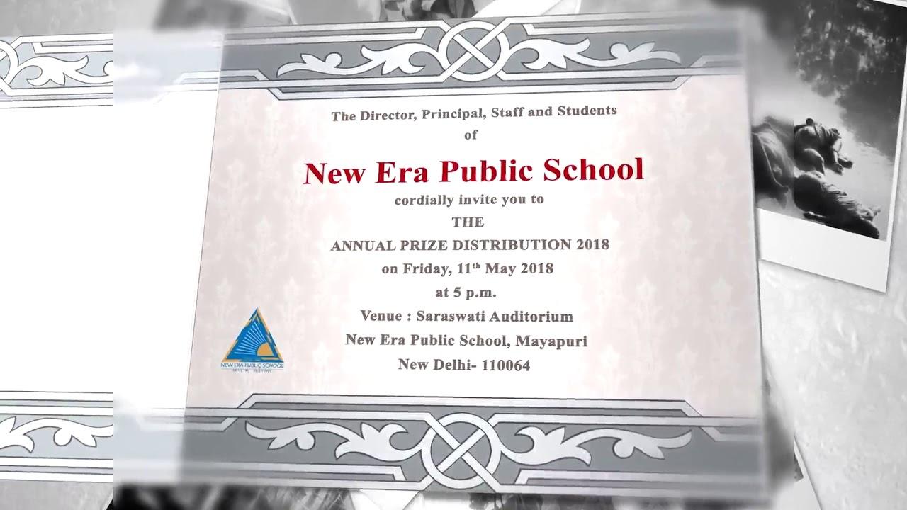 Invite Annual Day 2018
