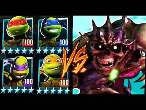 Черепашки-Ниндзя: Легенды - ИСПЫТАНИЕ СУПЕРШРЕДДЕР  (мобильные игры) TMNT Legends UPDATE X