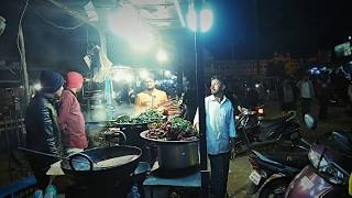 Shivaji nagar or commercial street food street Bangalore