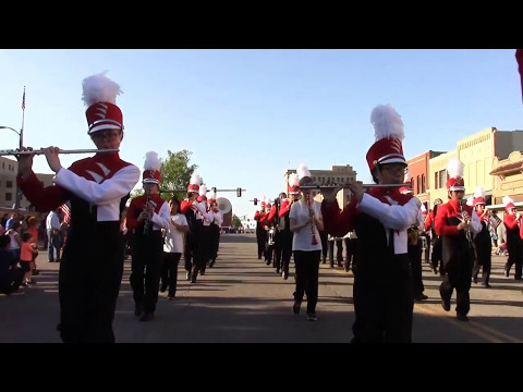 2017 Tri-State Music Festival Competition Parade - Enid, Oklahoma