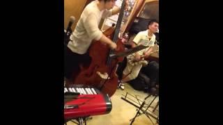2013.8.31 Lazully Jazz Quartet さん(Sax, Pf, B, Ds) @喫茶館プロコ...