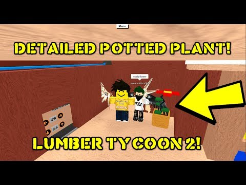 DIY Detailed Potted House Plant! | Lumber Tycoon 2