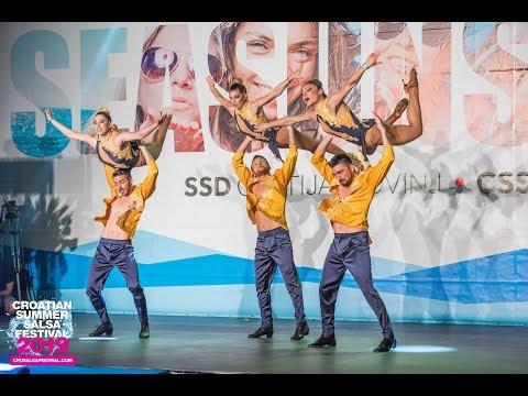 Marco Ferrigno & Ansima Ballet - Saraguey Official New Show | Croatian Summer Salsa Festival 2019