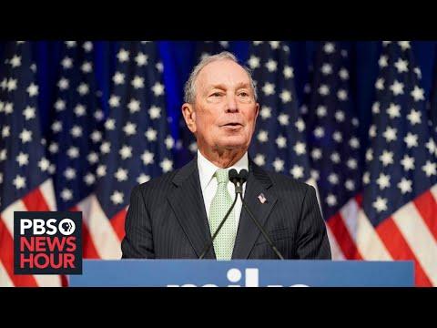 WATCH: 2020 presidential candidate Mike Bloomberg speaks in Norfolk, Va.
