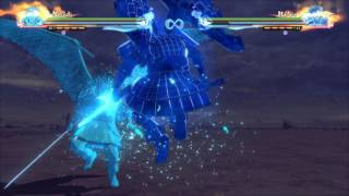 Kakashi Susanoo vs Madara Susanoo - Naruto Shippuden Ultimate Ninja Storm 4 | MindYourGames