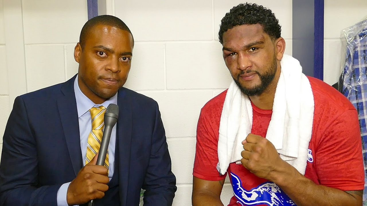 Dominic Breazeale After Knockout Loss Against Anthony Joshua Youtube
