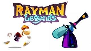 RAYMAN LEGENDS #3 - Fuga na Areia Movediça, Criaturas e Movimentos Bizarros!
