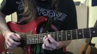 Sylosis - Empyreal - How To Play The Intro Sweep - Guitar Lesson - WITH TABS