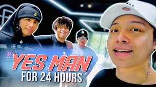 24 HRS YES MAN CHALLENGE | DJ LOONYO