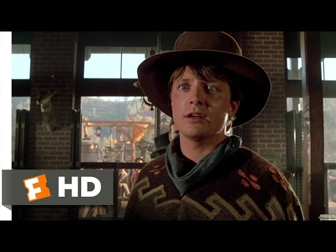 Back to the Future Part 3 610 Movie CLIP  Aint You Got the Guts? 1990 HD