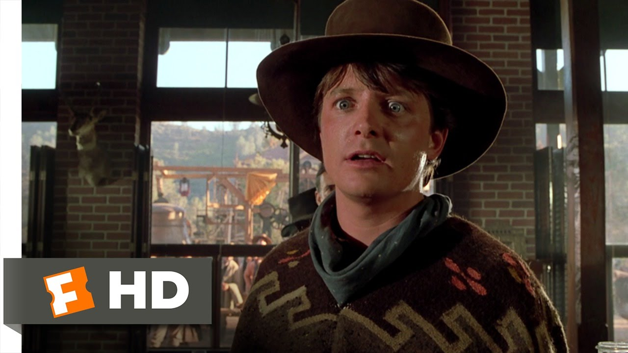 81eb2983 Back to the Future Part 3 (6/10) Movie CLIP - Ain't You Got the Guts?  (1990) HD - YouTube