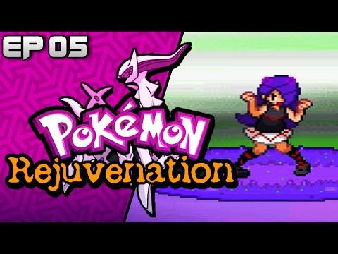 Pokemon Rejuvenation ( Fan Game ) Part 5 VENAM GYM BATTLE -  Gameplay Walkthrough