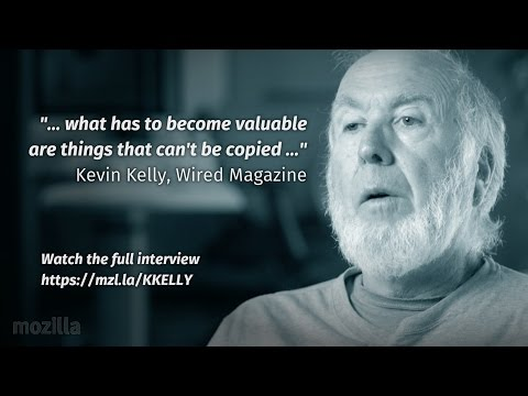 Kevin Kelly on Technology Forces Shaping the Future