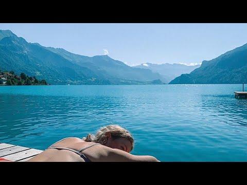 FIRST IMPRESSIONS OF VAN LIFE SWITZERLAND! Van Life Europe (exploring Beautiful Lakes!)