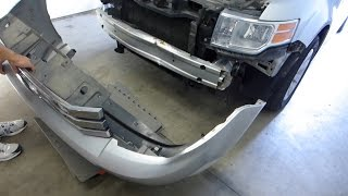 Ford Flex Front Bumper Cover and Reinforcement Removal Replacement (2009 - 2012)