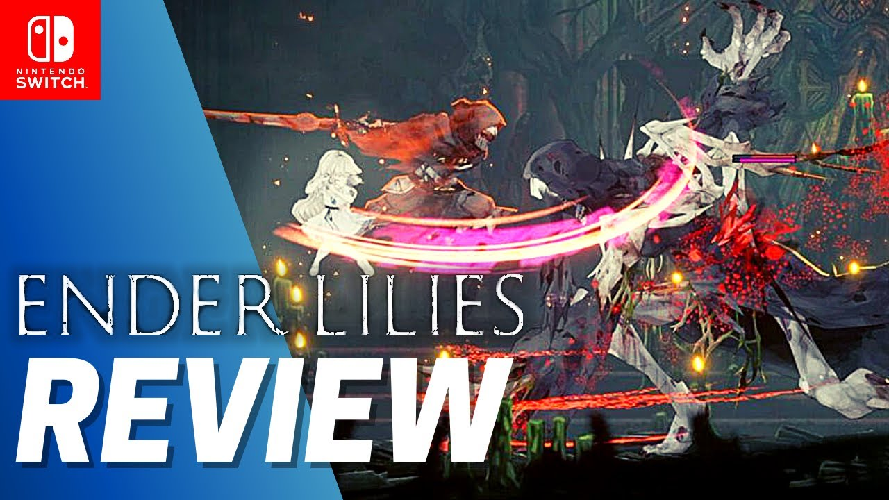 ENDER LILIES: Quietus of the Knights REVIEW Nintendo Switch GAMEPLAY | PC Metroidvania Impressions