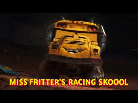 Cars 3 Blu ray:DVD Bonus Feature Miss Fritters Racing Skoool 2
