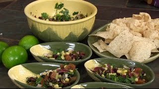 Fresh Corn And Black Bean Salsa