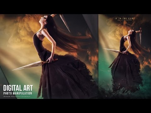 Into The Light - Digital Art Photo Manipulation Tutorial