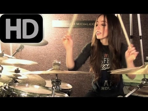 RISE AGAINST - SAVIOR - DRUM COVER BY MEYTAL COHEN