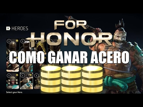 COMO CONSEGUIR ORO / ACERO RÁPIDO Y QUE COMPRAR   GUIA FOR HONOR ESPAÑOL