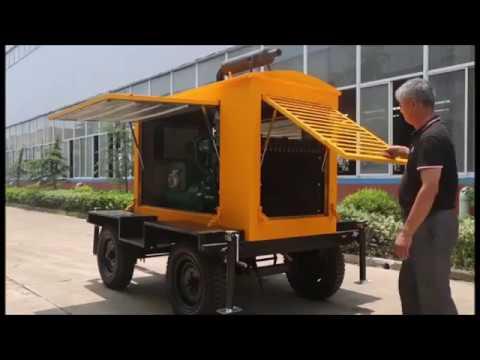 10KW to 1000KW Trailer Diesel Generator Set for Sale - Genset Factory