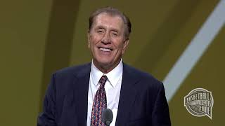 Rudy Tomjanovich's Basketball Hall of Fame Enshrinement Speech