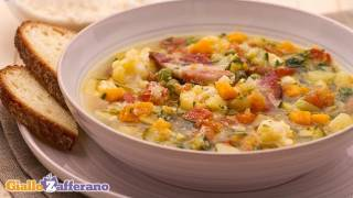 Minestrone Soup - Italian Recipe