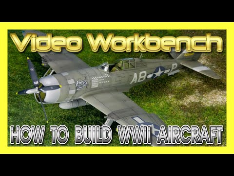 How to Build WWII Plastic Model Kit Aircraft | Video Workbench