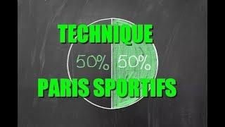 la technique du 50/50 foot, tennis, hockey.. dans les paris sportifs