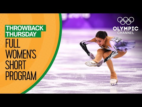 Full Women's Figure Skating Short Program | PyeongChang 2018 | Throwback Thursday