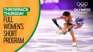 Full Women's Figure Skating Short Program   PyeongChang 2018   Throwback Thursday