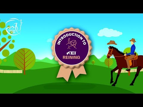 The rules of Reining |FEI World Equestrian Games™ Tryon 2018