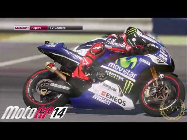 MotoGP '14 Slo-Mo Sunshine PC and PS4 Exclusive Replay Gameplay