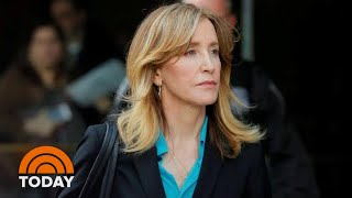 Felicity Huffman Expected To Plead Guilty Monday In College Cheating Scandal   TODAY