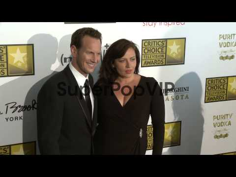 Patrick Wilson, Dagmara Dominczyk at Broadcast Television...