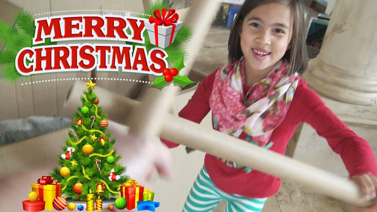 BIG O CHRISTMAS TREE!!! Holiday House Tour! - YouTube