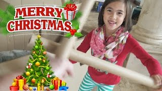 BIG O CHRISTMAS TREE!!! Holiday House Tour!