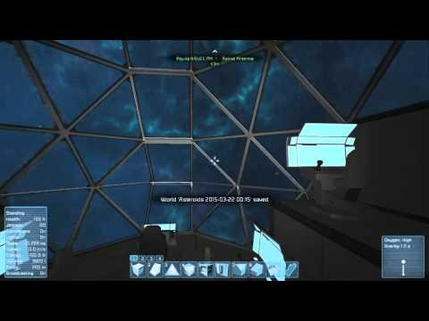 Space Engineers - proof of volume and vent number effecting pressurization rate.