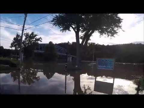 mon river flooding  in point marion pa