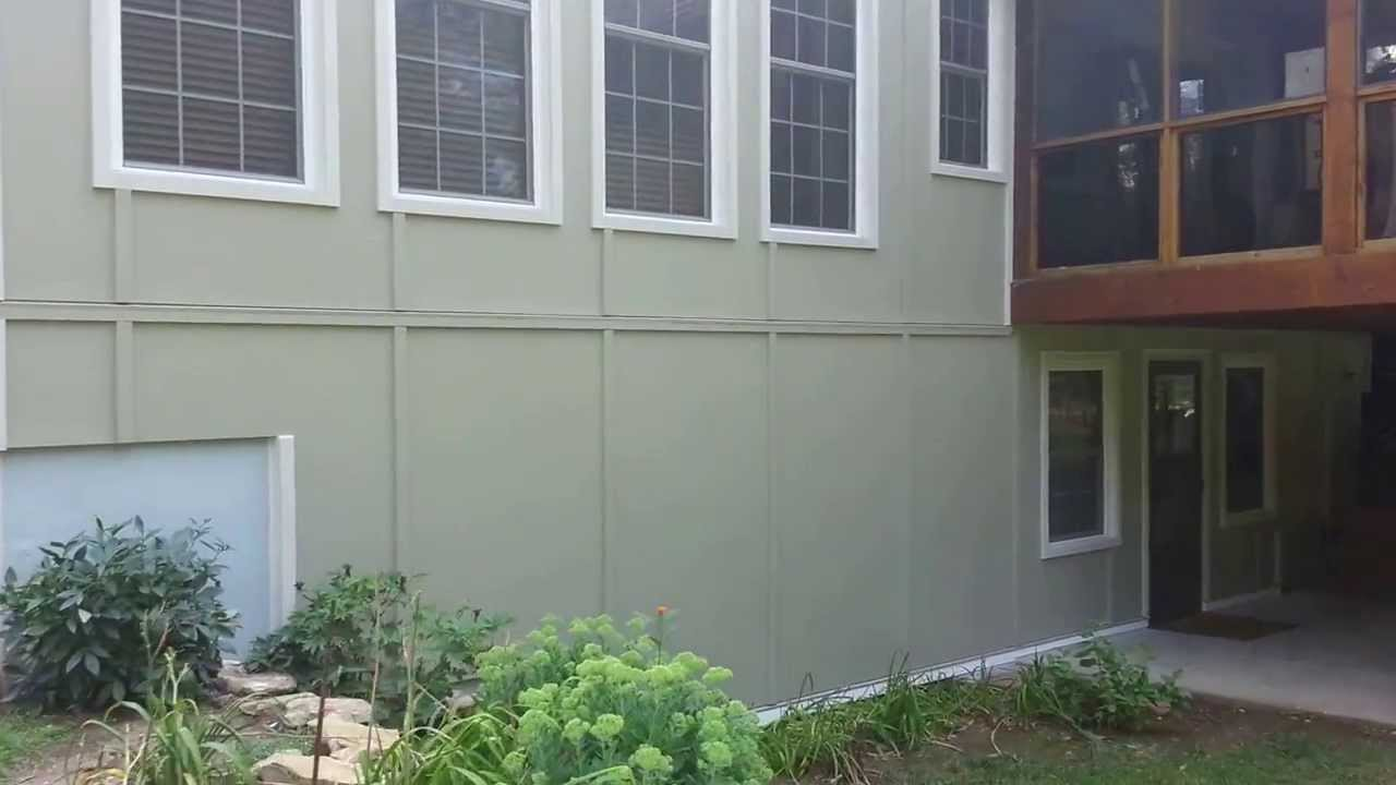 James Hardie Panel Siding Diamond Contracting Youtube