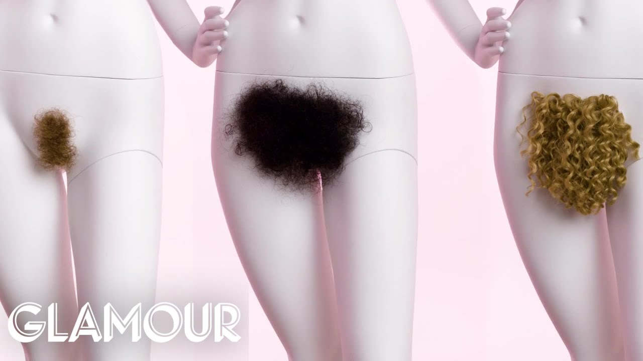 The Evolution of Pubic Hair | Glamour - YouTube
