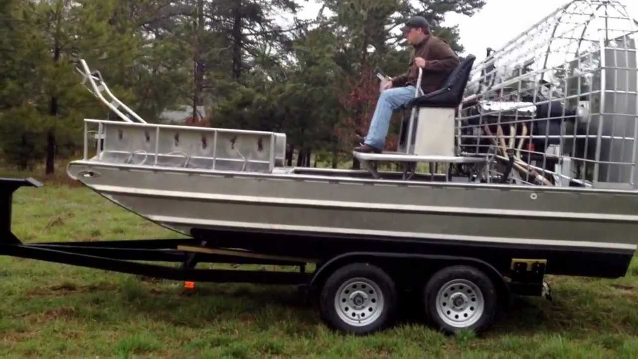 Silver Dollar Airboat Dry Loading