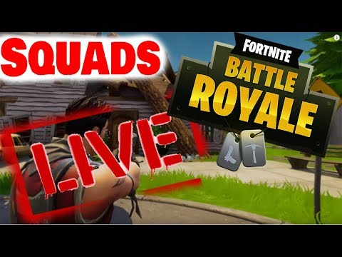 🔴 Fortnite Live! (squads) over 400 wins together! New update almost here