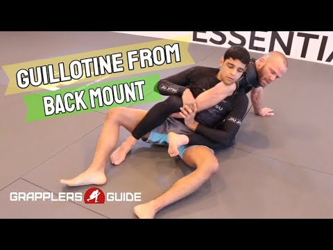 Josh Hinger - Guillotine From Back Mount When Arm Is Dragged Across