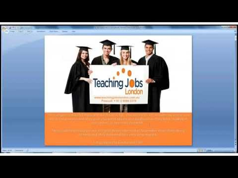Teaching Jobs London- Everything you need to know!
