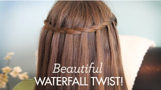 Beautiful Waterfall Twist | Cute Girls Hairstyles thumbnail