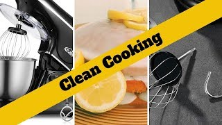 Cleaning Before & After Cooking - Food Stand Mixer