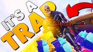 SCAMMING A SCAMMER WHO SCAMS SCAMMERS | Fortnite Save The World