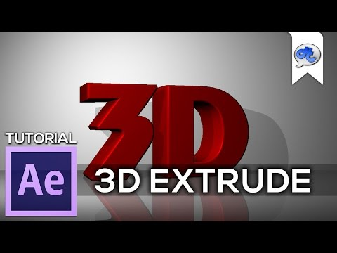 Adobe After Effects | TUTORIAL #26 : 3D EXTRUDE (Bahasa Indonesia)